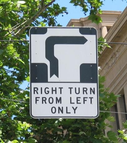 Australijoje eismas - kairėje